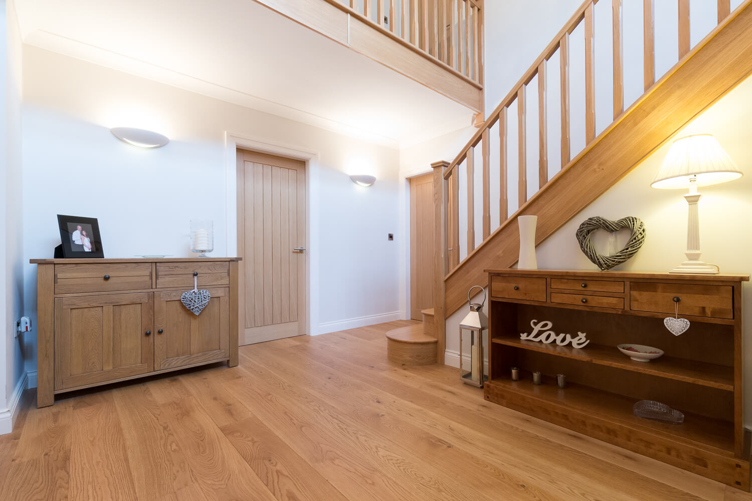 Property photography in Shropshire interior stairs
