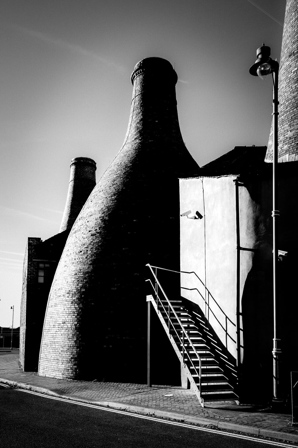 Architectural photography Staffordshire Gladstone Pottery