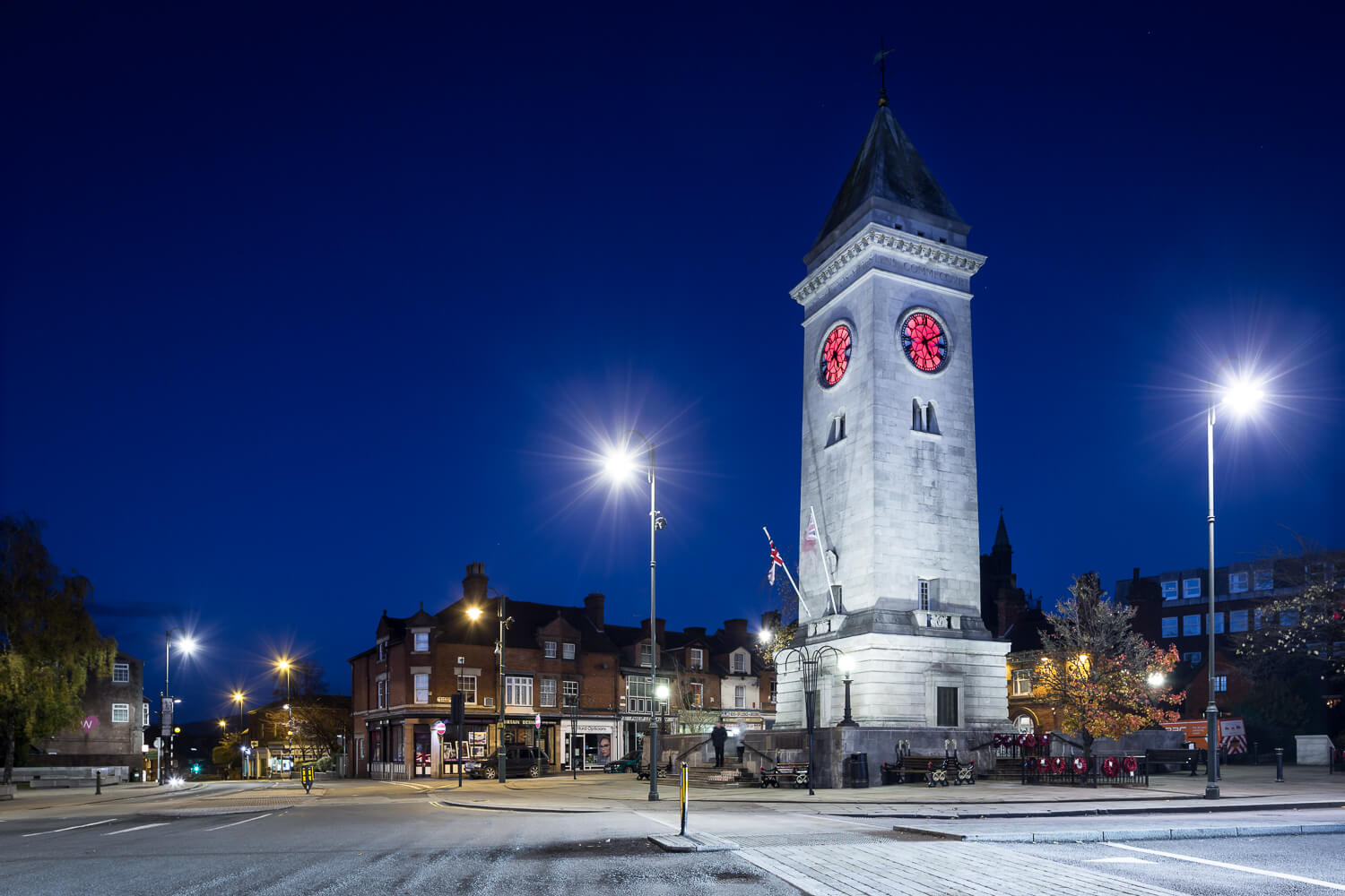 Architectural photography Staffordshire Leek The Monument