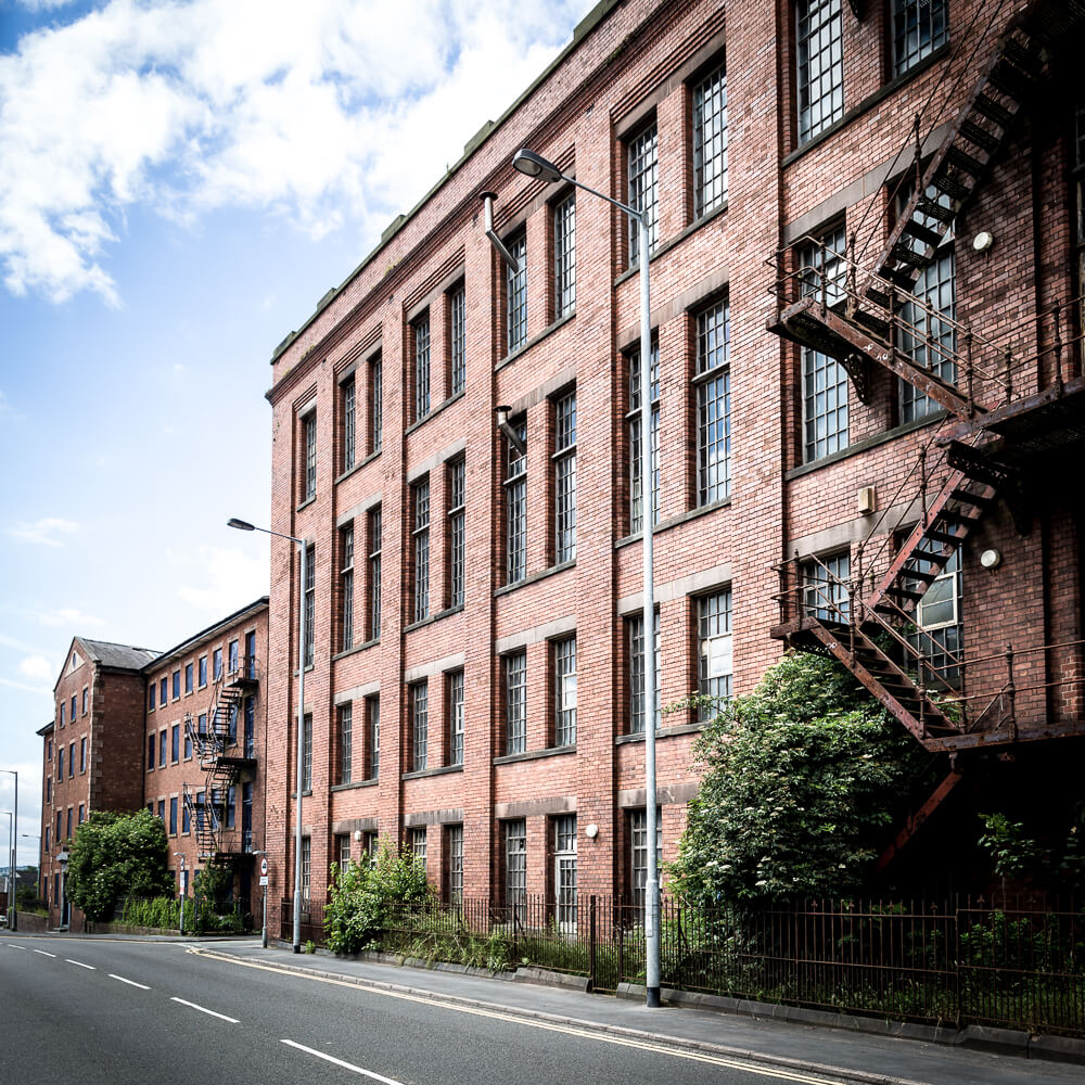 Architectural photography Staffordshire Leek