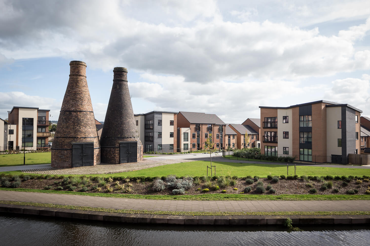 Architectural photography Staffordshire Bottle Kilns