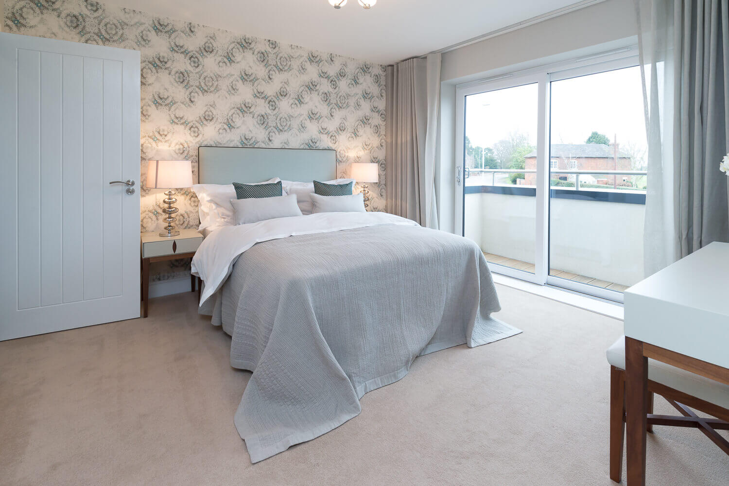 Property photography in Shropshire interior bedroom